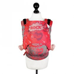Fidella Fusion babycarrier with buckles -Rock n Rolla vintage