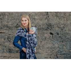 LennyLamb ring sling Grey Camo