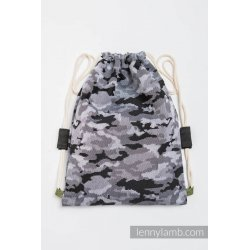 LennyLamb Bag SackPack Grey Camo