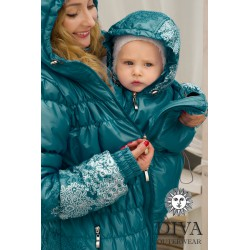 Diva Milano jarní/podzimní nosící kabát 3v1 Notte