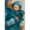 Diva Milano babywearing winter coat 3 in 1 Mare