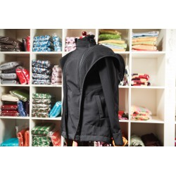 LennyLamb Nosící kabát softshell - černý