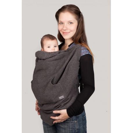 Diva Milano Wool Babywearing Cover, Antracite