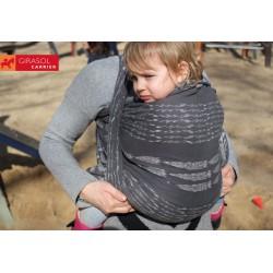 Girasol Ring sling Gray Ikat