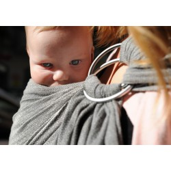 Girasol Ring sling Graphit diamondweave