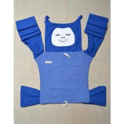 Indajani Mei Tai rostoucí Dream Face Blue