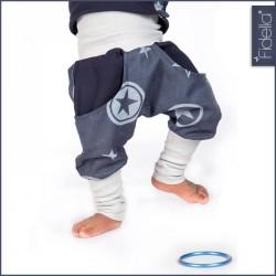 Fidella Outer Space Blue - dětské kalhoty