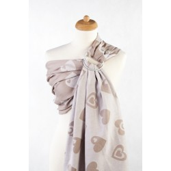 LennyLamb Ring sling Biege and cream