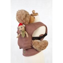 LennyLamb dětské nosítko pro panenky DIamond Brown