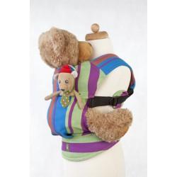 LennyLamb dětské nosítko pro panenky Zumba Blue