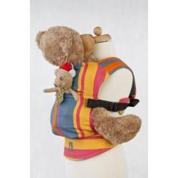 LennyLamb dětské nosítko pro panenky Zumba Orange