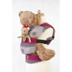 LennyLamb dětské nosítko pro panenky Coffee Lace