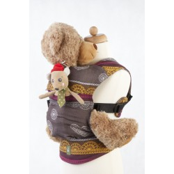 LennyLamb Doll Carriers Coffee Lace