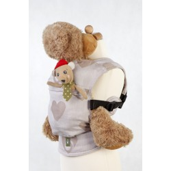 LennyLamb Doll Carriers Sweetheart Biege and Cream