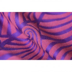 Yaro Dandy Violet Orange Wool (vlna)