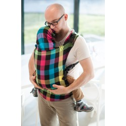 LennyLamb ergonomic carrier Diamond Plaid