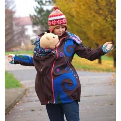 RebekaQ babywearing jacket Harudha