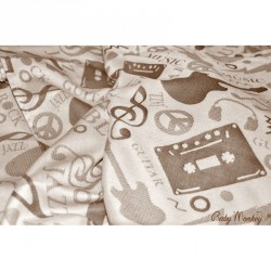 BabyMonkey Ring Sling - Music - Cinnamon