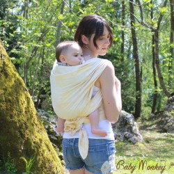 Baby Monkey Ring Sling - Flamingo - Curry