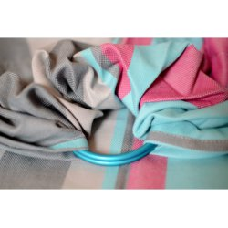 Pandabejbi Ring sling Mint loves Light Grey