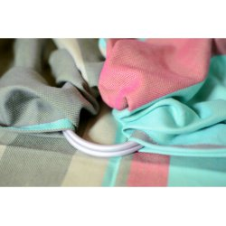 Pandabejbi Ring sling Mint loves Lime