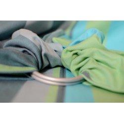 Pandabejbi Ring sling Lime & Turquoise