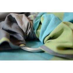 Pandabejbi Ring sling Lime & Dark Grey
