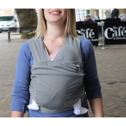 Ergonomic Babycarrier Caboo NCT 15 Stormysea