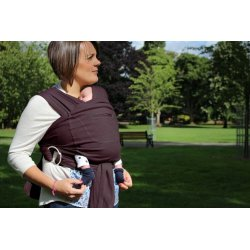 Ergonomic Babycarrier Caboo+Cotton Blend Huckleberry