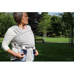 Ergonomic Babycarrier Caboo+Cotton Blend Opal