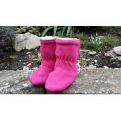 Angel Wings Fleece Shoes with cotton