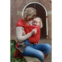 Yaro Ring sling Delta Red Noisette