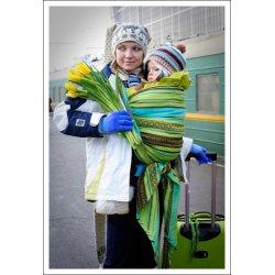 Ellevill Zara Tri Green biobavlna