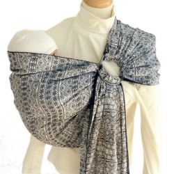 Didymos ring-sling Indio Dark Blue-White