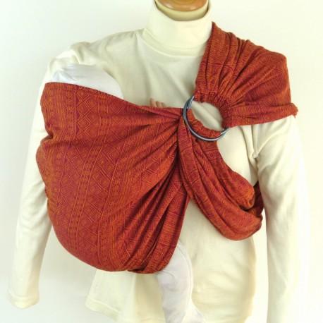 Didymos ring-sling Indio Ruby-Mandarine