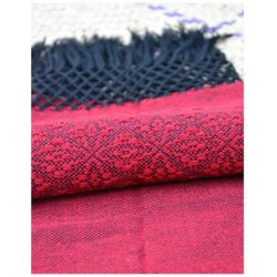 Indajani Rebozo Zapotec Red