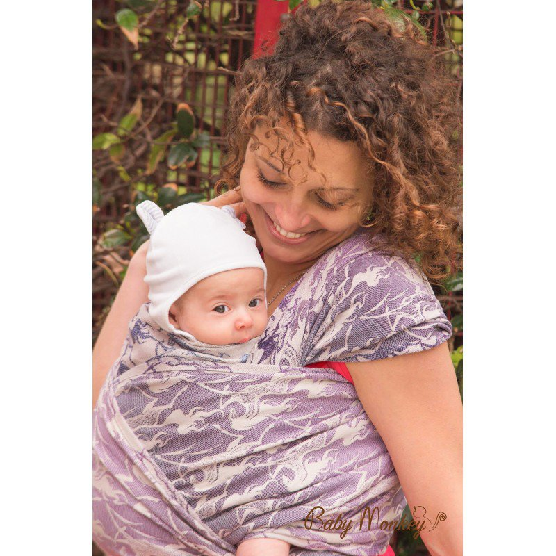 Baby Monkey Ring Sling Shade Collection Wild Horse Ice