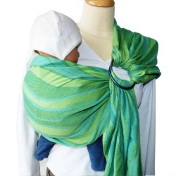 Didymos ring-sling Waves Lime