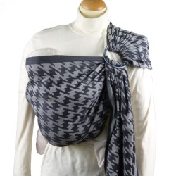Didymos ring-sling Houndstooth Anthracite