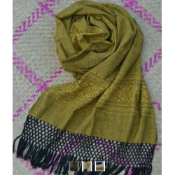 Indajani Rebozo Zapotec Yellow