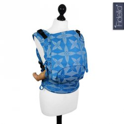 Fidella Fusion ergonomické nosítko s přezkami - Blossom blue