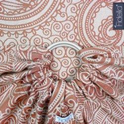 Fidella ring sling Masala - henna - bamboo