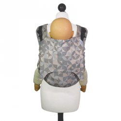 Fidella Onbuhimo back carrier - Kaleidoscope - sand