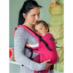Isara ergonomic carrier V3 full wrap conversion - Raspberry