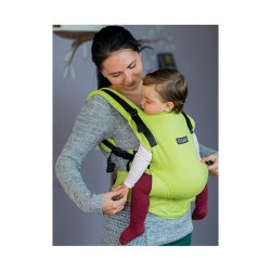 Isara ergonomic carrier V3 full wrap conversion - Lime Green