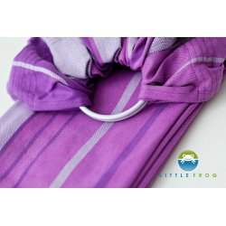 Little Frog Ring Sling Bamboo Amethyst