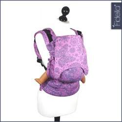 Fidella Fusion ergonomické nosítko s přezkami -Iced butterfly violet - půjčovna