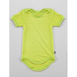 DuoMamas childern bodysuit - short sleeves - lime