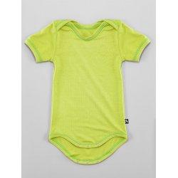 DuoMamas childern bodysuit - short sleeves - lime