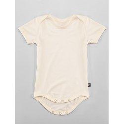 DuoMamas childern bodysuit - short sleeves - cream